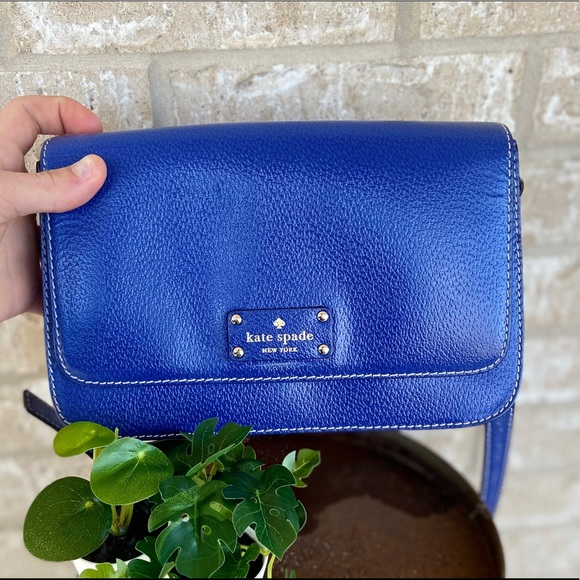 Kate Spade purse blue